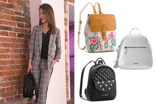 Kolaż, plecaki/Materiały partnera/www.instagram.com/paulinasykutjezyna