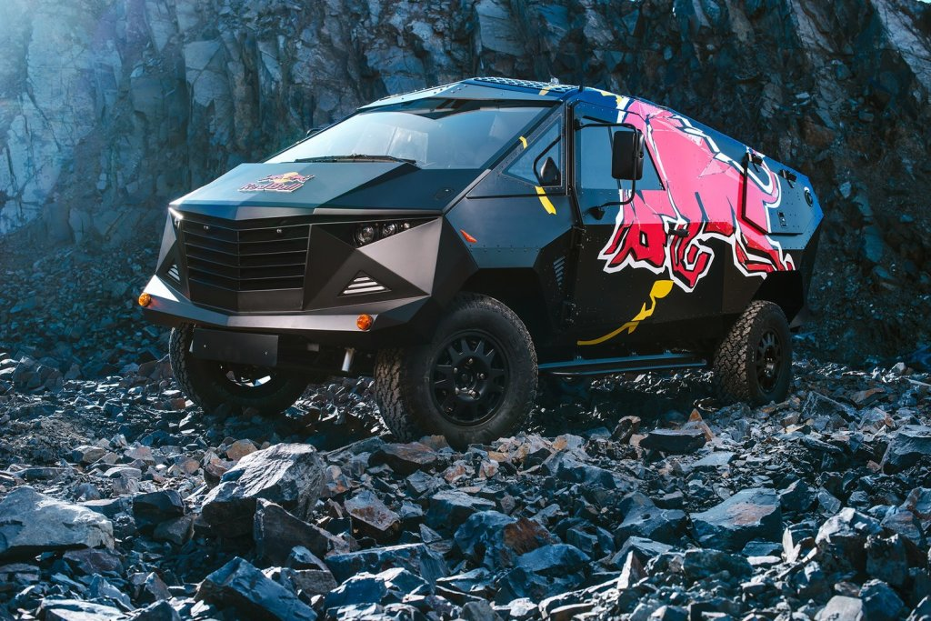 Nowy Event Car Red Bulla