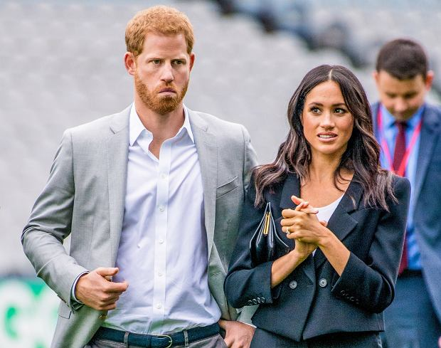 Książę Harry, księżna Meghan