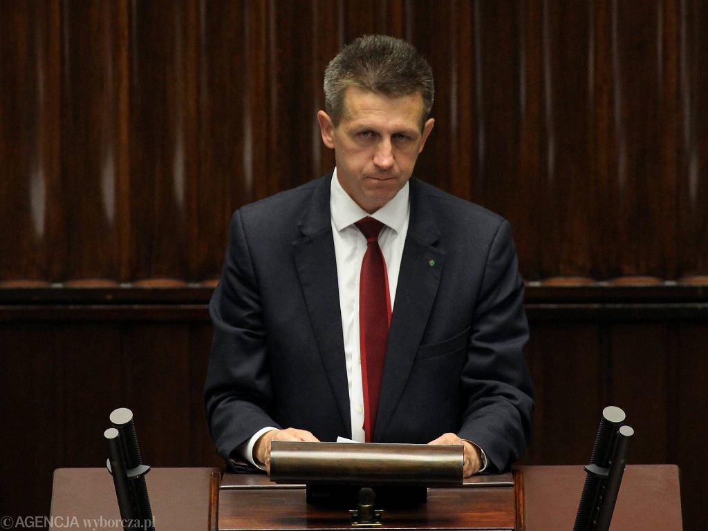 Jan Bury, poseł PSL, w Sejmie