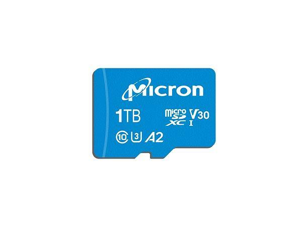 Karta MicroSD od Micron o pojemności 1TB