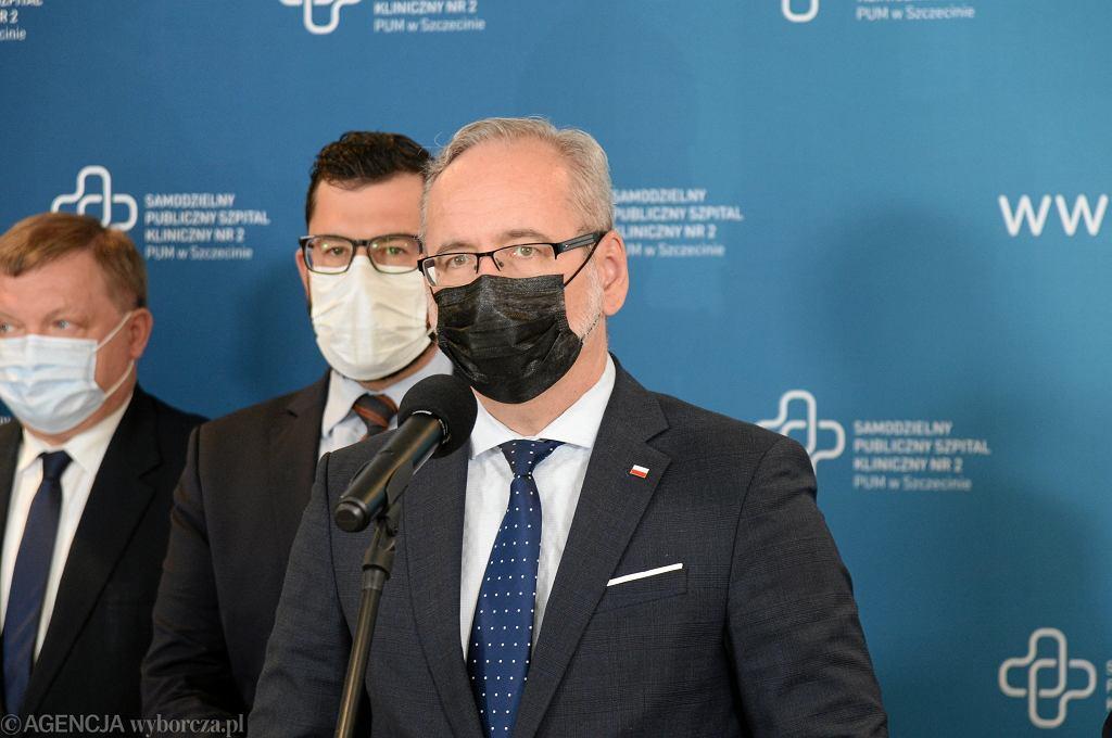Adam Niedzielski, minister zdrowia, zdjęcie ilustracyjne