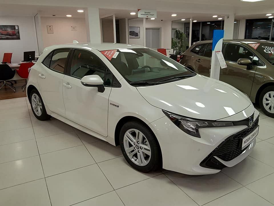 Toyota Corolla była w 2019 roku przebojem sprzedaży w Toyota Carter Gdańsk