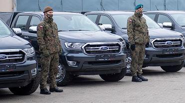 Ford Ranger XLT w polskim wojsku