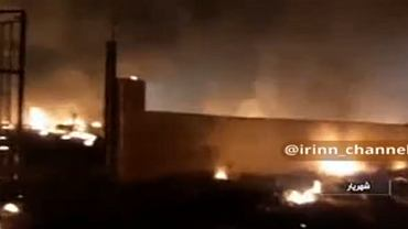Zdjęcie z miejsca katastrofy ukraińskiego samolotu w Iranie