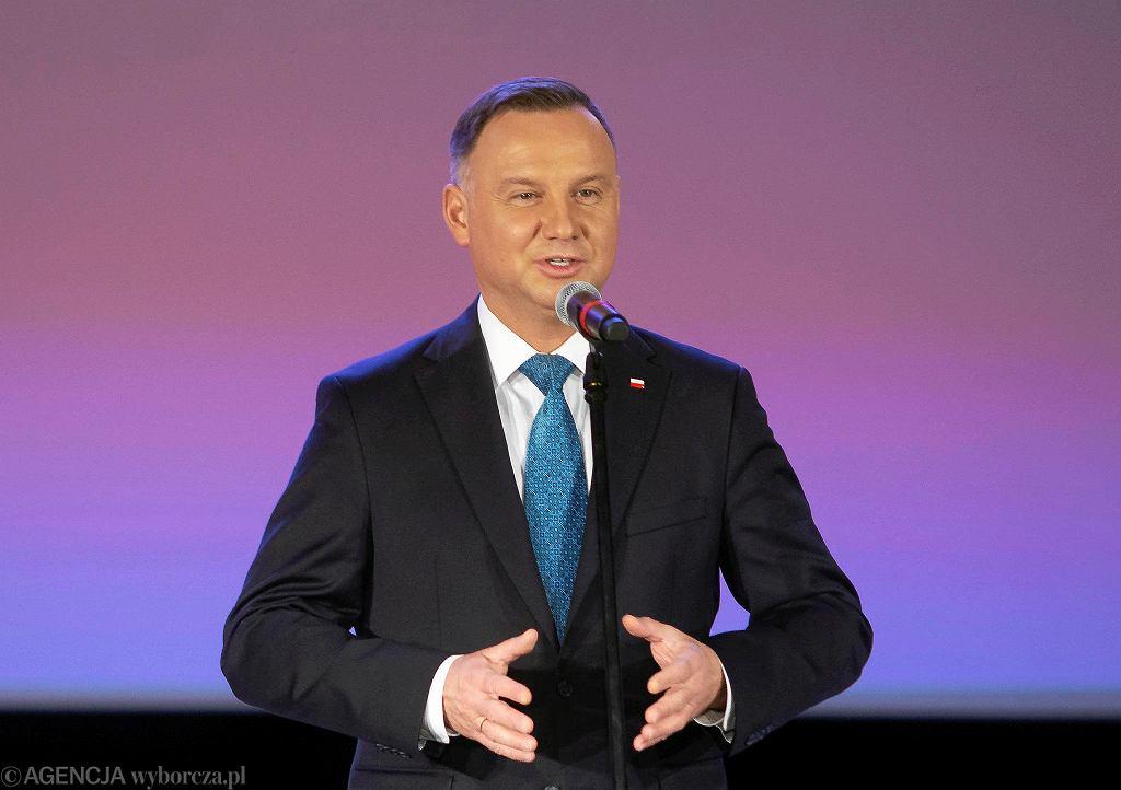 Prezydent Andrzej Duda z wizytą w Kolnie