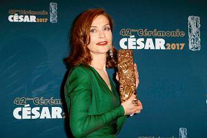 """Cezary 2017. Isabelle Huppert wygrywa za rolę w """"Elle"""". Teraz dostanie Oscara?"""