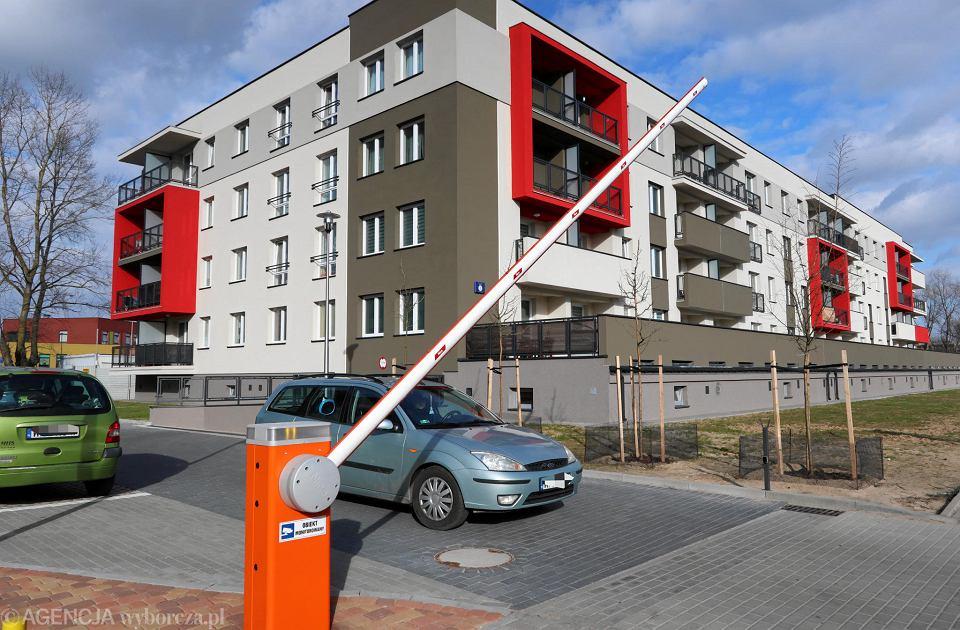 Niedawno oddany blok MTBS przy ul. Kleeberga na Podolszycach-Północ