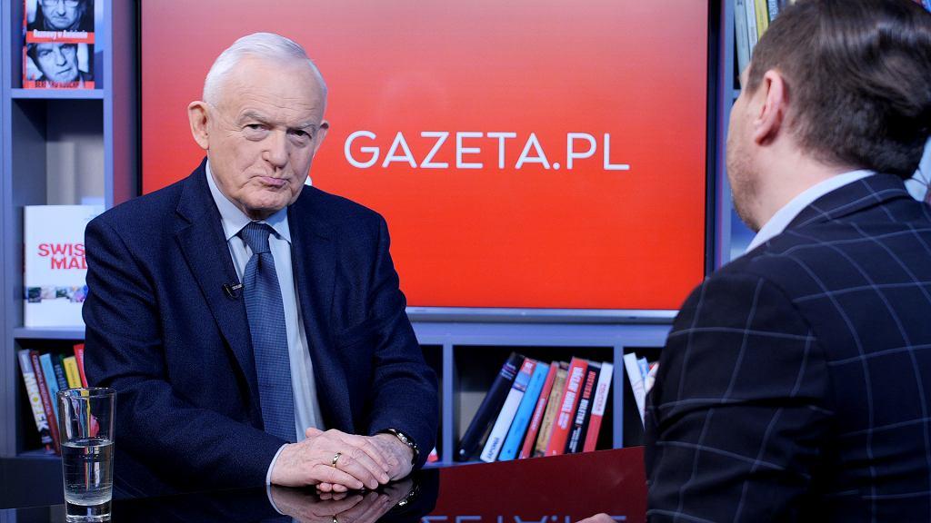Leszek Miller w Porannej rozmowie Gazeta.pl