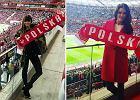 Gwiazdy na meczu Polska-Łotwa. Anna Lewandowska, Agnieszka Radwańska i inni