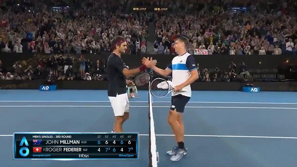 Ogromne problemy Rogera Federera! Z wielkim trudem pokonał pogromcę Huberta Hurkacza