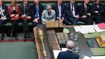 Brexit. Theresa May w parlamencie Wielkiej Brytanii