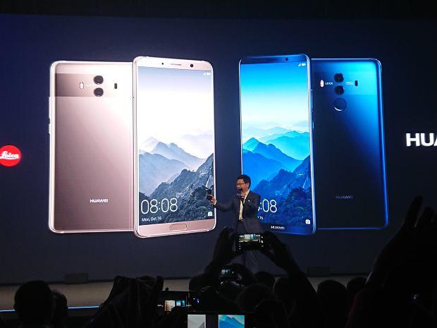Konferencja Huawei Mate 10
