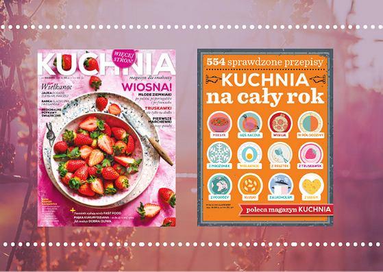 Magazyn kuchnia nr 04/19 z dodatkiem 'Kuchnia na cały rok'