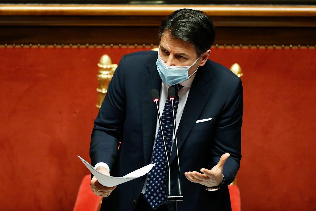 Giuseppe Conte złożył rezygnację
