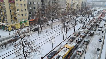 Warszawa w śniegu