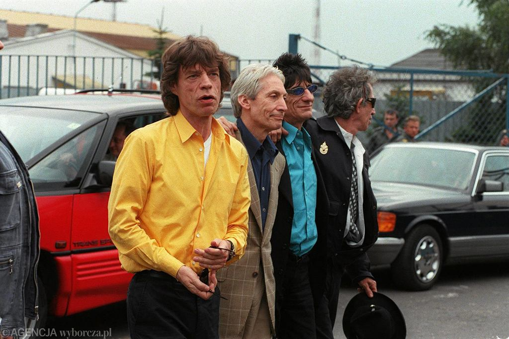 The Rolling Stones na Lotnisku Chopina - 13.08.1998