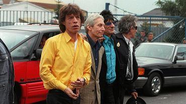 The Rolling Stones na Lotnisku Chopina - 13.08.1998