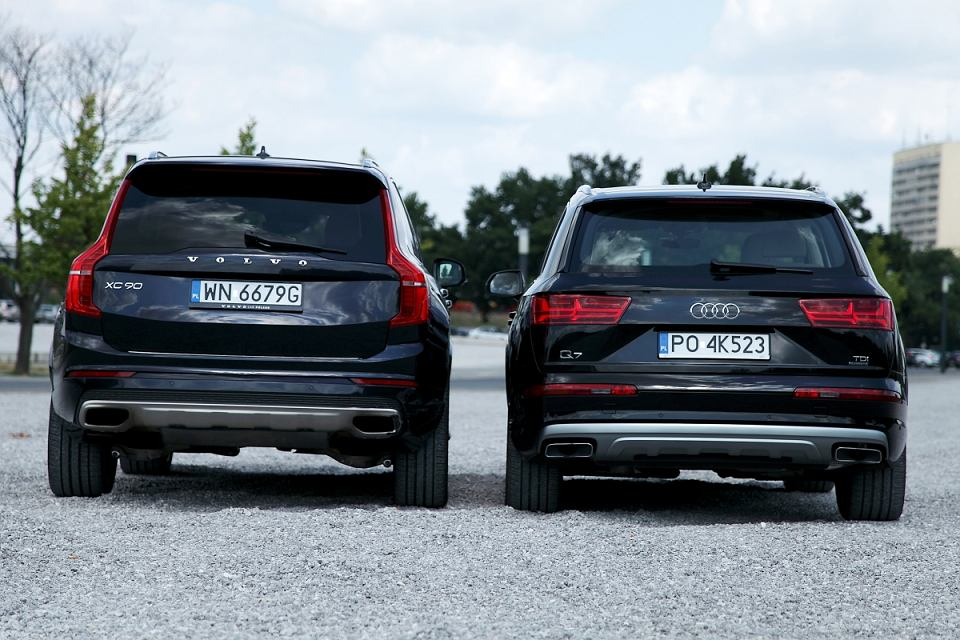 Audi Q7 3 0 Tdi Vs Volvo Xc90 D5 Konfrontacja Dwie Kartki Papieru