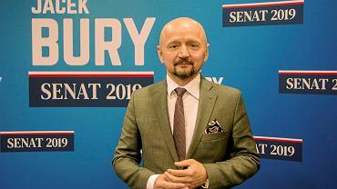 Senator Koalicji Obywatelskiej Jacek Bury, przedsiębiorca z Lublina