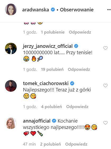 Agnieszka Radwańska - życzenia