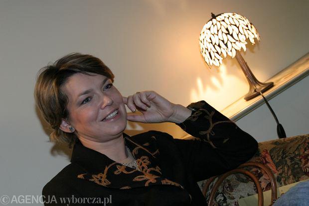 26.11.2004 SOPOT MAGDA MASNY FOTOMODELKA PRZEZ 7 LAT PRACOWALA W TELETURNIEJU KOLO FORTUNY   FOT. BEATA KITOWSKA / AGENCJA GAZETA