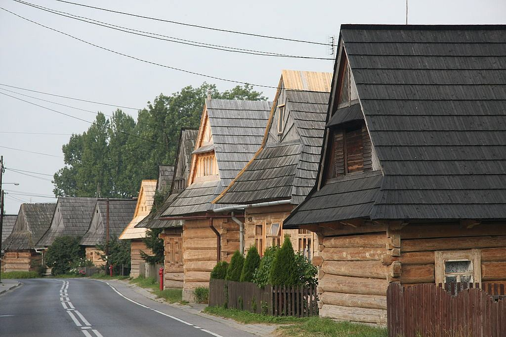 Chochołów - drewniana zabudowa / Fot. Aotearoa - Praca własna, CC BY 3.0.