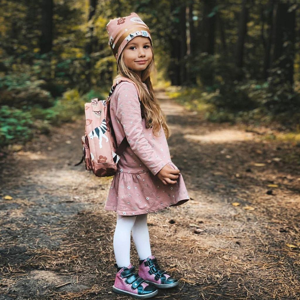 Buty na wiosnę dla dziewczynki