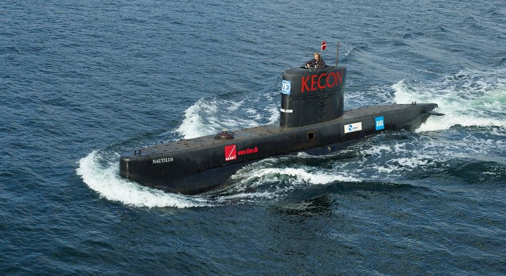Łódź podwodna Petera Madsena UC3 Nautilius