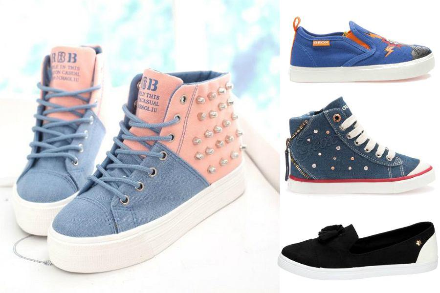 Buty dziecięce - trampki