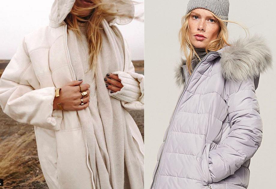 Pikowane płaszcze