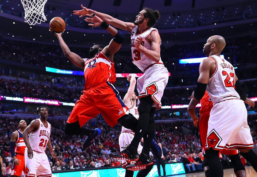 2. mecz play off: Chicago Bulls - Washington Wizards