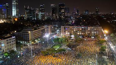 Protest w Izraelu