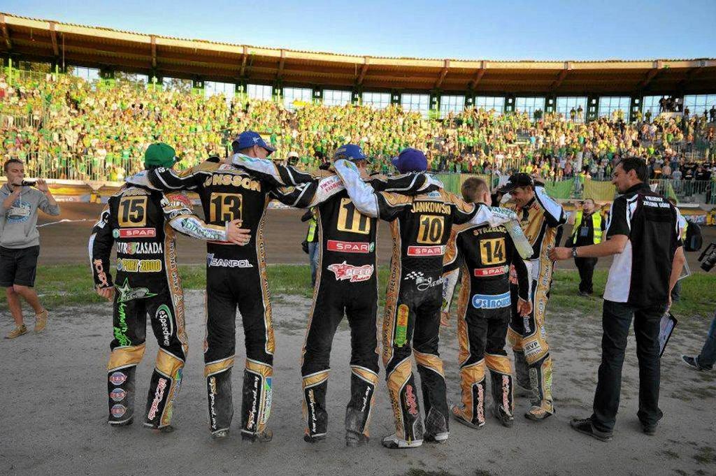 Stelmet Falubaz Zielona Góra - pod taką nazwą zielonogórski klub żużlowy występował w latach 2011-2013, dwukrotnie sięgając po złoto
