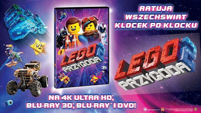 'LEGO przygoda 2' debiutuje na DVD i Blu-ray
