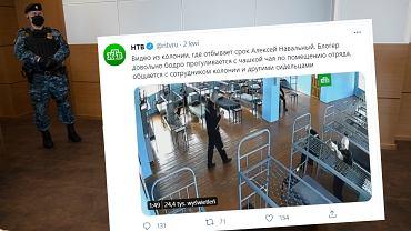 Proklemlowskie media opublikowały nagranie, które ma przedstawiać Nawalnego