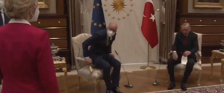 Premier Włoch po aferze z krzesłem nazwał Erdogana dyktatorem
