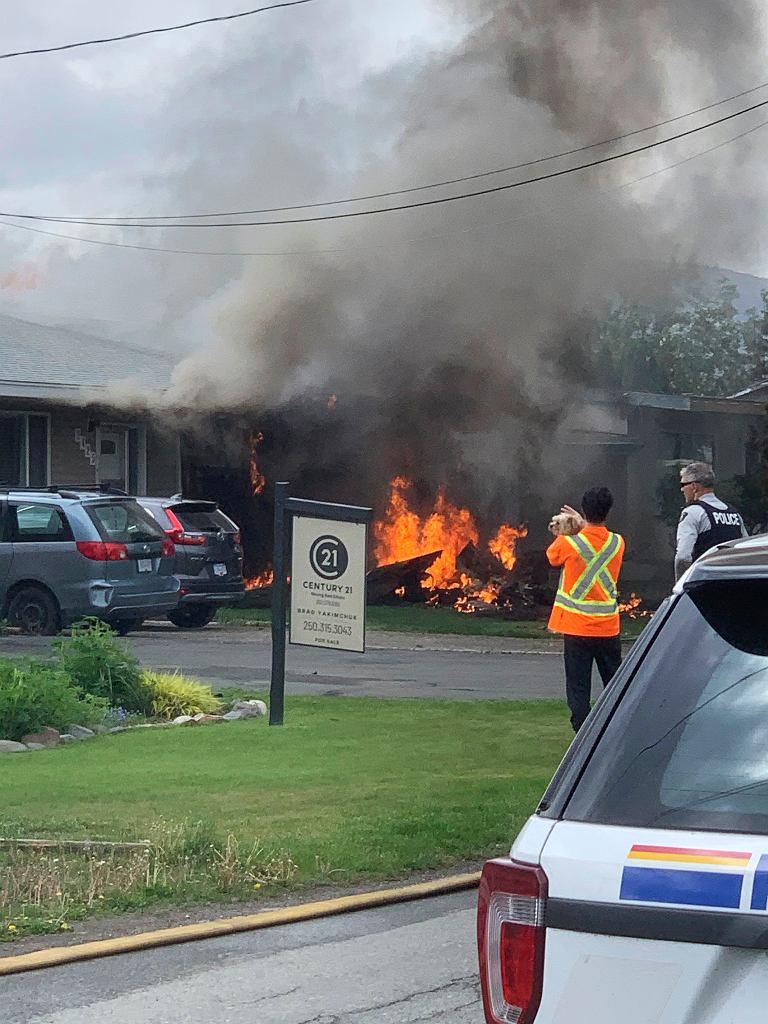 Katastrofa samolotu w Kamloops (Kolumbia Brytyjska)