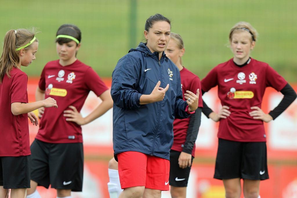 Trenerka Nina Patalon