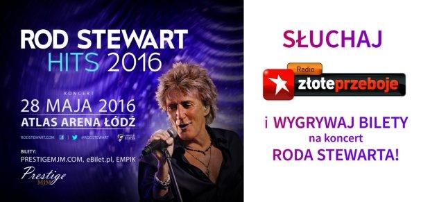 Rod Stewart na koncercie w Łodzi