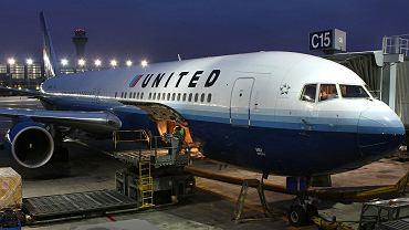 Samolot linii United Airlines {zdjęcie ilustracyjne)