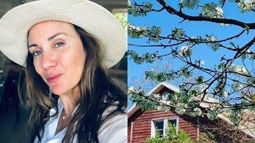 """Ilona Ostrowska sprzedaje klimatyczną posiadłość. Cena zachęca. """"Możliwość spokojnego życia"""""""