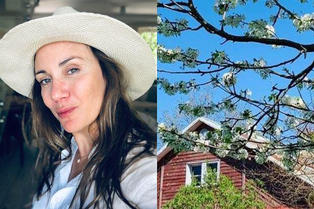 Ilona Ostrowska poinformowała fanów, że sprzedaje posiadłość. Klimatyczny dom otoczony sadem znajduje się w miejsowości Gorajec-Stara Wieś.