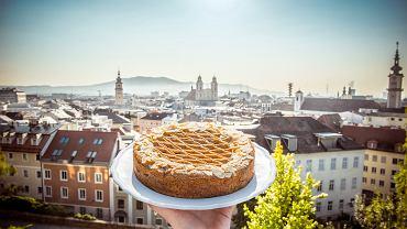 Słynny tort z Linzu