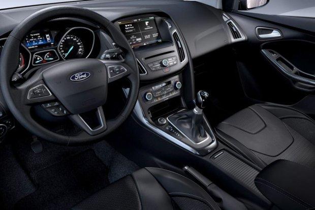 2014 Ford Focus - wnętrze