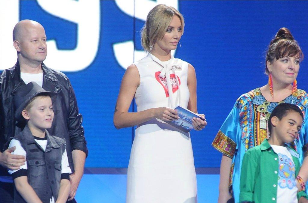 Agnieszka Szulim na planie programu