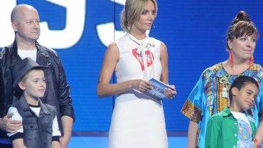 """Agnieszka Szulim na planie programu """"Aplauz, Aplauz!"""""""