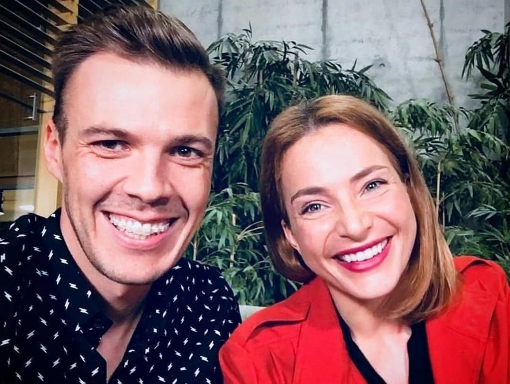 Kamil Baleja i Anna Dereszowska