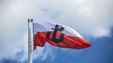 Godzina 'W' na rondzie Radosława w 74 rocznice wybuchu Powstania Warszawskiego