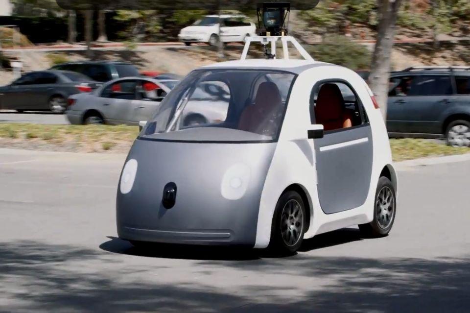 Google Self-Driving Car Project - prezentacja samochodu bez kierownicy